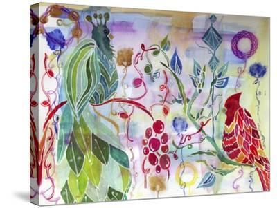 Free as a Bird-Lauren Moss-Stretched Canvas Print