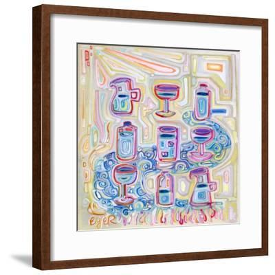 Containers Of Water-Josh Byer-Framed Giclee Print