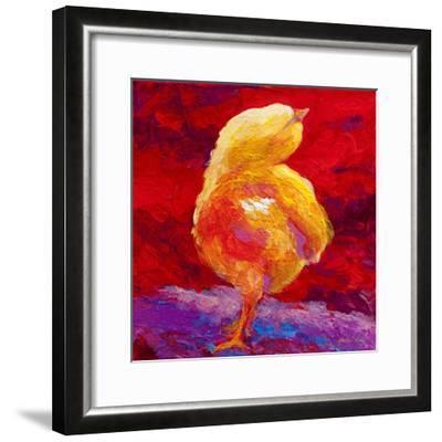 Chic V-Marion Rose-Framed Giclee Print