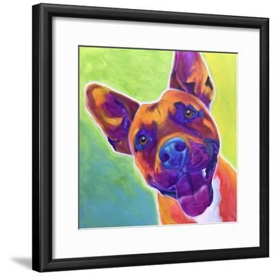 Pit Bull - Billy-Dawgart-Framed Giclee Print