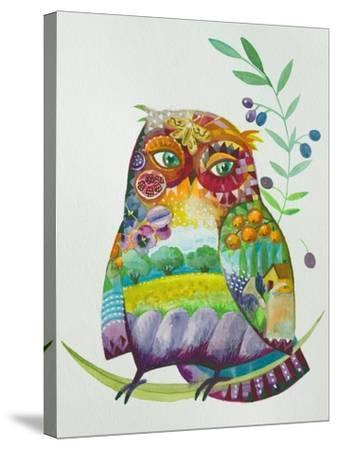 Owl From Provence-Oxana Zaika-Stretched Canvas Print