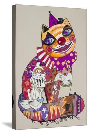 Clown 2-Oxana Zaika-Stretched Canvas Print