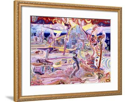 The Icy Shores Where Giant Roses Grow-Josh Byer-Framed Giclee Print