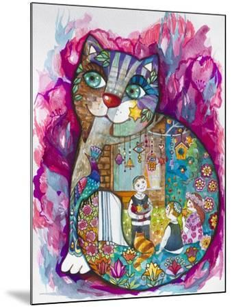 Evening-Oxana Zaika-Mounted Giclee Print