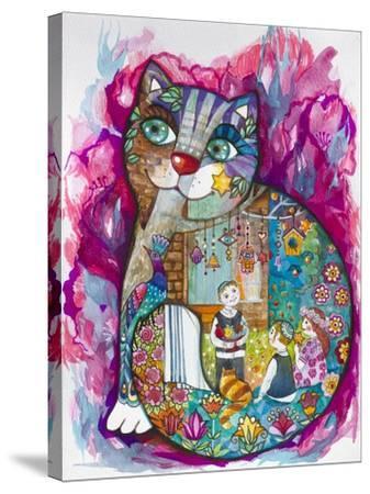 Evening-Oxana Zaika-Stretched Canvas Print