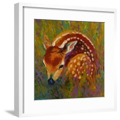 New Fawn-Marion Rose-Framed Giclee Print