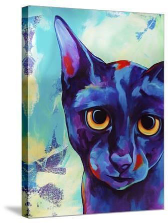Cameo Cat-Corina St. Martin-Stretched Canvas Print