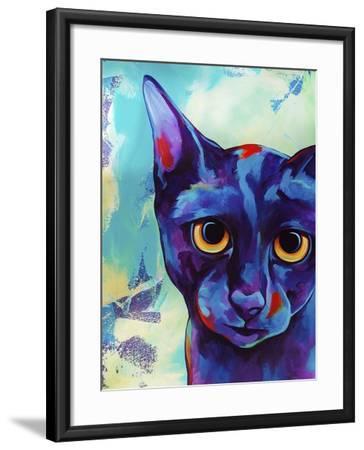 Cameo Cat-Corina St. Martin-Framed Giclee Print