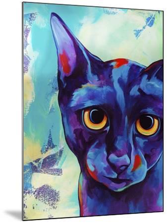 Cameo Cat-Corina St. Martin-Mounted Giclee Print