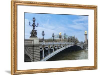 Pont Alexandre III - I-Cora Niele-Framed Giclee Print
