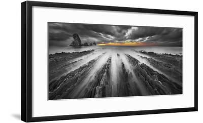 Challenge BN color-Moises Levy-Framed Photographic Print