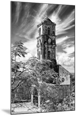Cuba Fuerte Collection B&W - Church of Santa Ana in Trinidad IV-Philippe Hugonnard-Mounted Photographic Print