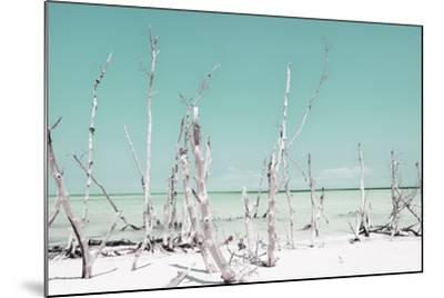 Cuba Fuerte Collection - Ocean Wild Nature - Pastel Coral Green-Philippe Hugonnard-Mounted Photographic Print