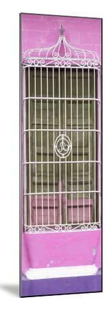 Cuba Fuerte Collection Panoramic - Cuban Pink Window-Philippe Hugonnard-Mounted Photographic Print