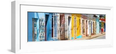 Cuba Fuerte Collection Panoramic - Colorful City-Philippe Hugonnard-Framed Photographic Print