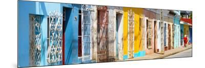 Cuba Fuerte Collection Panoramic - Colorful City-Philippe Hugonnard-Mounted Photographic Print