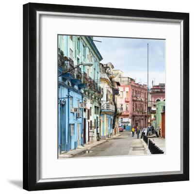 Cuba Fuerte Collection SQ - Colorful Architecture of Havana-Philippe Hugonnard-Framed Photographic Print