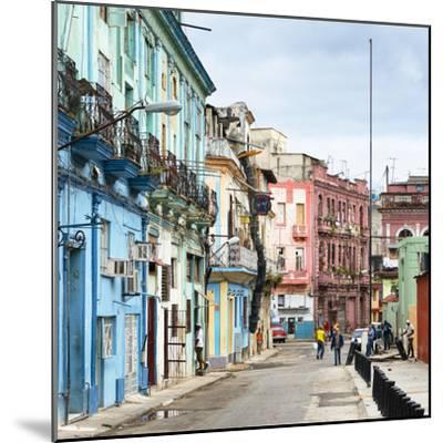 Cuba Fuerte Collection SQ - Colorful Architecture of Havana-Philippe Hugonnard-Mounted Photographic Print