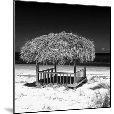 Cuba Fuerte Collection SQ BW - Paradise Beach-Philippe Hugonnard-Mounted Photographic Print