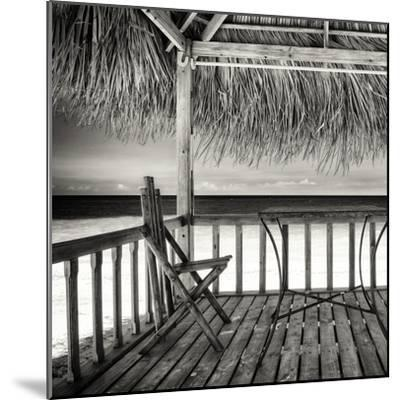 Cuba Fuerte Collection SQ BW - Serenity-Philippe Hugonnard-Mounted Photographic Print
