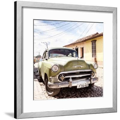 Cuba Fuerte Collection SQ - Old Cuban Chevy II-Philippe Hugonnard-Framed Photographic Print