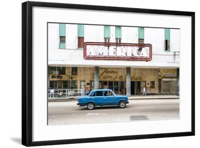 Cuba Fuerte Collection - Teatro America in Havana-Philippe Hugonnard-Framed Photographic Print