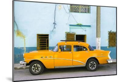 Cuba Fuerte Collection - Havana Classic American Orange Car-Philippe Hugonnard-Mounted Photographic Print