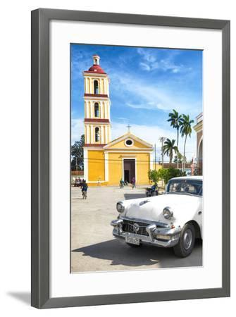 Cuba Fuerte Collection - Main square of Santa Clara II-Philippe Hugonnard-Framed Photographic Print