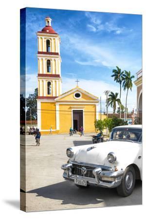 Cuba Fuerte Collection - Main square of Santa Clara II-Philippe Hugonnard-Stretched Canvas Print