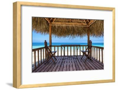 Cuba Fuerte Collection - Peaceful Beach-Philippe Hugonnard-Framed Photographic Print