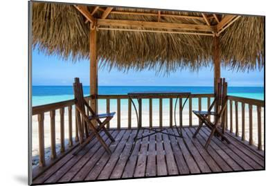 Cuba Fuerte Collection - Peaceful Beach-Philippe Hugonnard-Mounted Photographic Print