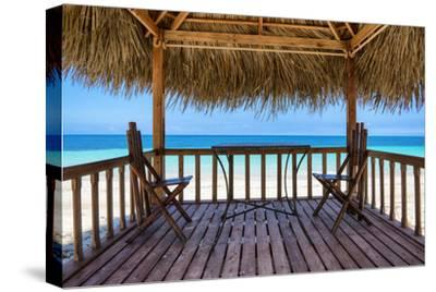 Cuba Fuerte Collection - Peaceful Beach-Philippe Hugonnard-Stretched Canvas Print