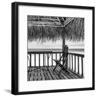 Cuba Fuerte Collection SQ BW - Serenity III-Philippe Hugonnard-Framed Photographic Print