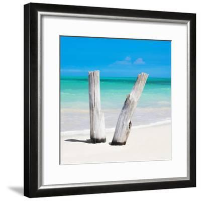 Cuba Fuerte Collection SQ - Clear Blue-Philippe Hugonnard-Framed Photographic Print