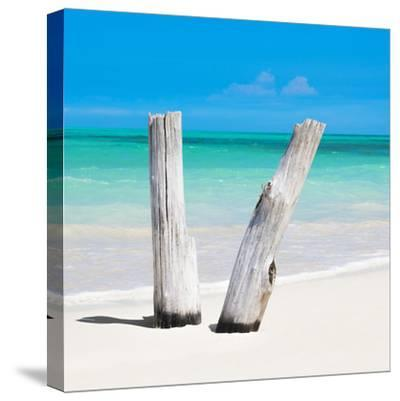Cuba Fuerte Collection SQ - Clear Blue-Philippe Hugonnard-Stretched Canvas Print