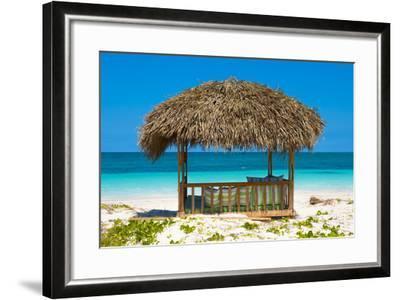 Cuba Fuerte Collection - Beach Hut-Philippe Hugonnard-Framed Photographic Print