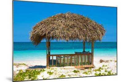 Cuba Fuerte Collection - Beach Hut-Philippe Hugonnard-Mounted Photographic Print