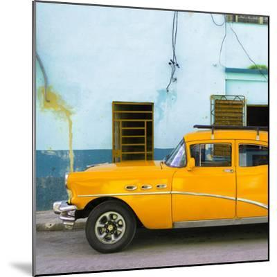 Cuba Fuerte Collection SQ - Havana Classic American Orange Car-Philippe Hugonnard-Mounted Photographic Print