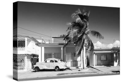 Cuba Fuerte Collection B&W - Vacation Home II-Philippe Hugonnard-Stretched Canvas Print