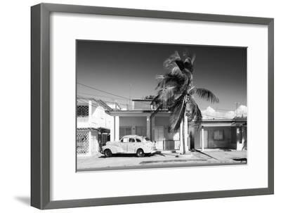Cuba Fuerte Collection B&W - Vacation Home II-Philippe Hugonnard-Framed Photographic Print