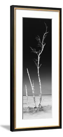 Cuba Fuerte Collection Panoramic BW - Ocean Nature-Philippe Hugonnard-Framed Photographic Print