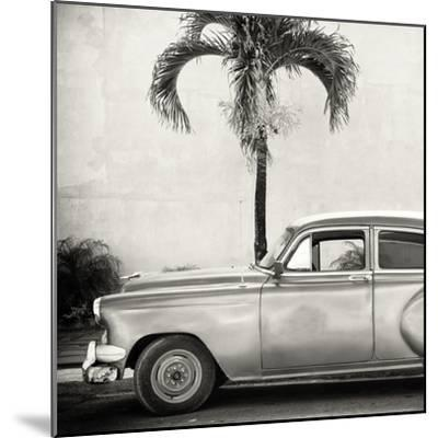 Cuba Fuerte Collection SQ BW - Beautiful Retro Car-Philippe Hugonnard-Mounted Photographic Print