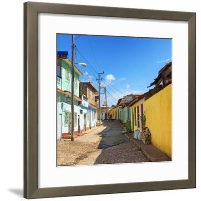 Cuba Fuerte Collection SQ - Colorful Architecture Trinidad-Philippe Hugonnard-Framed Photographic Print
