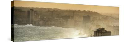 Cuba Fuerte Collection Panoramic - Havana Sunrise III-Philippe Hugonnard-Stretched Canvas Print