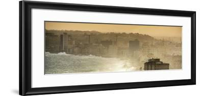 Cuba Fuerte Collection Panoramic - Havana Sunrise III-Philippe Hugonnard-Framed Photographic Print