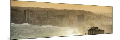 Cuba Fuerte Collection Panoramic - Havana Sunrise III-Philippe Hugonnard-Mounted Photographic Print