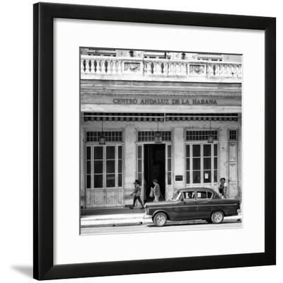 Cuba Fuerte Collection SQ BW - Centro Andaluz de la Habana-Philippe Hugonnard-Framed Photographic Print