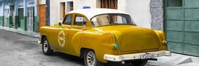 Cuba Fuerte Collection Panoramic - Honey Taxi Pontiac 1953-Philippe Hugonnard-Framed Photographic Print