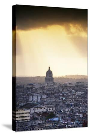 Cuba Fuerte Collection - Havana Sunrise II-Philippe Hugonnard-Stretched Canvas Print