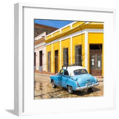 Cuba Fuerte Collection SQ - Cuban Street Scene-Philippe Hugonnard-Framed Photographic Print